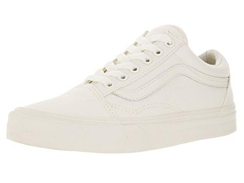Vans Old Skool Men US 7 White Fashion Sneakers