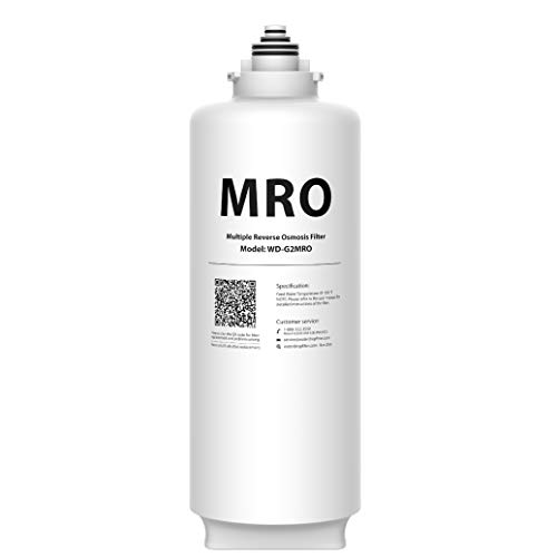 Waterdrop WD-G2MRO Filter, 2-Year Lifetime, Replacement for WD-G2-B, WD-G2-W Reverse Osmosis System