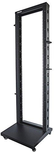 Intellinet 48,3cm 19Zoll Laborgestell 42HE 2-Pfosten HxBxT 2007 x 600 x 603mm unmontiert schwarz