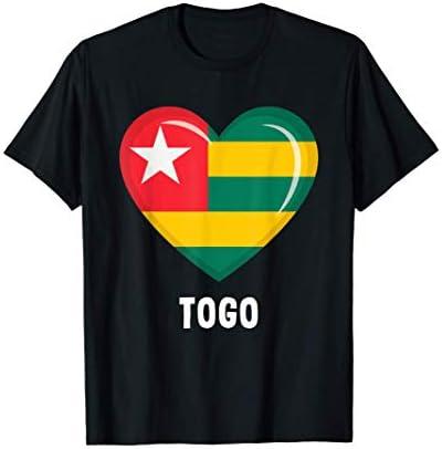 Togo Flag Shirt Togolese T Shirt product image