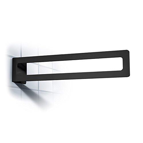 Radius Puro Handtuchstange schwarz Handtuchhalter 903 A