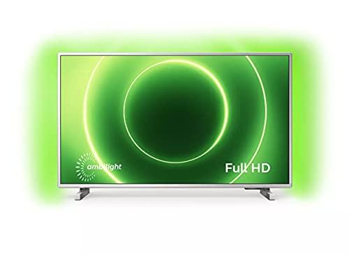 Philips Ambilight TV 32PFS6905/12 Smart TV 32 Pulgadas Televisor LED Full HD (Pixel Plus HD, HDR 10, Saphi Smart TV, HDMI, USB) [Modelo de 2020/2021]