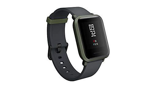 Reloj Inteligente HUAMI AMAZFIT BIP Green - Pantalla 3.25CM - BT - Sensor FRECUENCIA Cardiaca - GPS - IP68 - Bat. 200MAH, Kokoda Green