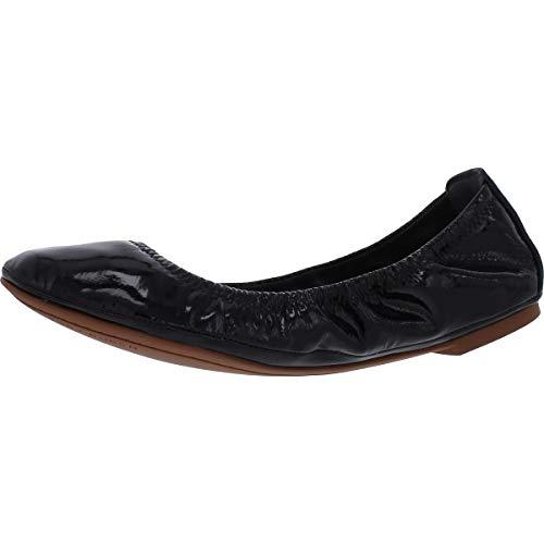 Tory Burch Women's Eddie Ballet Flats, Perfect Black, 8.5 Medium US