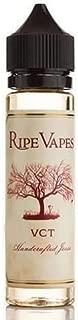 Ripe Vapes VCT バニラ カスタード ノンニコチン ノンタール 電子タバコ プラスチックボトル リキッド 60ml 並行輸入品