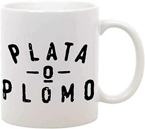 Taza Mug Plata o Plomo – Narcos – Pablo Escobar – Gadget Serie NTFLIX