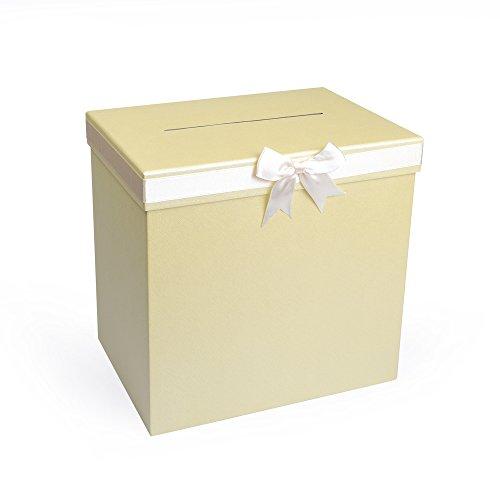 EAST-WEST Trading GmbH Caja para dinero, caja para tarjetas de regalo, buzón de boda, caja suelta, regalo de boda, caja Just Married