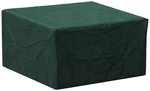 DIELUNY Fundas para Muebles de jardín a Prueba de Agua 300x300x100cm, Funda para Muebles de Patio, Rectángulo de Tela Oxford Banco de Mesa de Comedor Impermeable a Prueba de Polvo, Personalizable, A