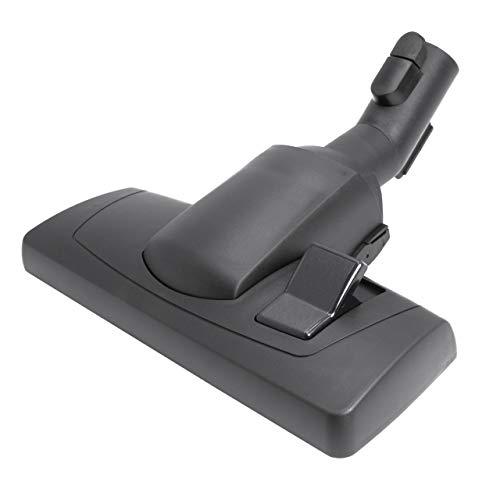 vhbw bocchetta spazzola 28cm per aspirapolvere attacco rotondo 35mm compatibile con Miele ALLERGY HEPA 1800 S388, 700 S718, PLUS S518-1 - nero