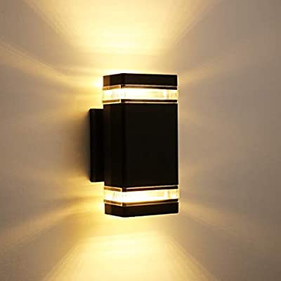 LEONLITE LED UP Down Light, Super Bright LED Wall Mount Lamp, for Decoration on Door Way, Corridor, Garage, 5 Years Warranty
