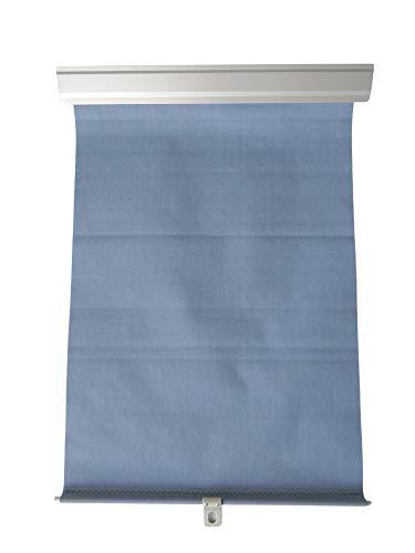 Blaues Rollo für Dachfenster | Günstig! Blitzversand! | Kompatibel mit ältere VELUX Dachfenster | Kompatibel mit Dachfenster von FAKRO, Aron, OptiLight