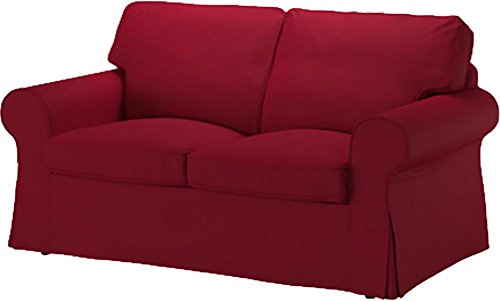 Custom Slipcover Replacement La Ektorp Dos plazas Sofá Cama Funda de Recambio es Fabricada a Medida para IKEA EKTORP 2sofá Cama sólo, una Calidad Funda para sofá de Repuesto