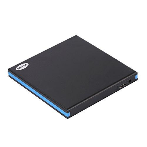 CIpotZIZ External Blu-ray Drive Combo, USB 3.0 Aluminum 3D...