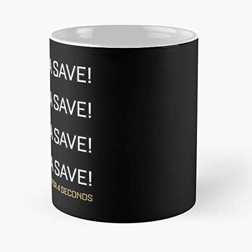 Rocket League Gifts Merchandise Ps4 - Funny Coffee Mug, Gag Gift Poop Fun Mugs