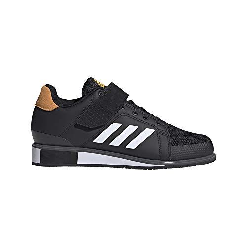 adidas Men's Power Perfect III. Weightlifting Shoes, Negbás/FTW Bla/Dorsol, 6 UK
