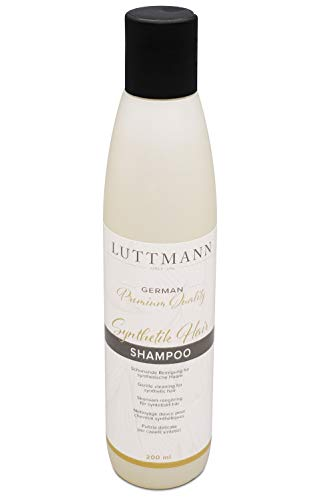 LUTTMANN® Synthetik Hair Shampoo 200 ml - German Premium Quality für Kunsthaarperücken & Haarteile