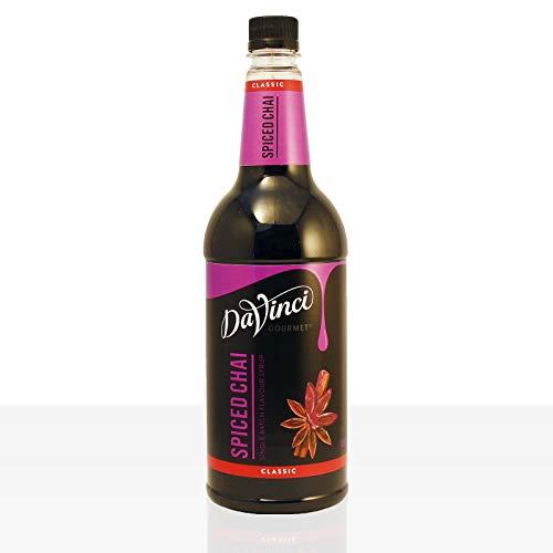 DaVinci Gourmet Classic Spiced Chai Syrup Pet, 1er Pack (1 x 1 l)