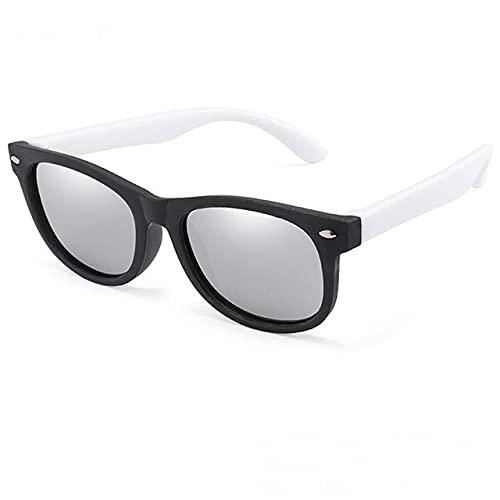 Gafas de Sol polarizadas Niños Niñas Gafas de Sol Gafas de Seguridad Regalos para niños Gafas UV400 para bebés