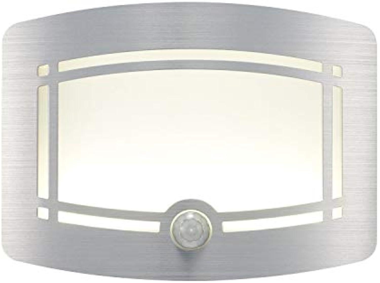 ZHANG NAN ●  LED Wireless Lichtgesteuerter Bewegungsmelder Aktivierte batteriebetriebene Wandleuchte Human Sensing Wall Light ●
