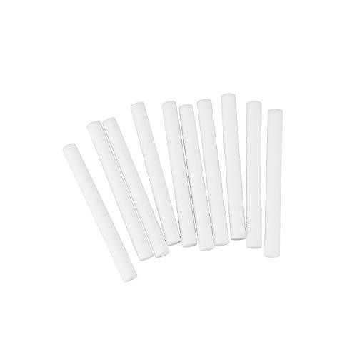 SovelyBoFan 10 Unids/Pack Reemplazo de Filtro de Humidificador Esponja de AlgodóN Stick para Humidificador USB Difusor de Aroma Humidificador de Aire Humidificador