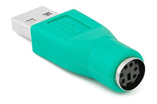 YuChen PS / 2 hembra a USB macho adaptador convertidor para teclado y ratón