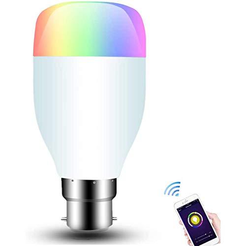 9W Wifi Slimme Lampen LED Dimbare RGB-Kleur Slimme Lampen Werken Compatibel Met Alexa, Google Home, APP-Afstandsbediening, Spraakbesturing, Geen Hub Vereist