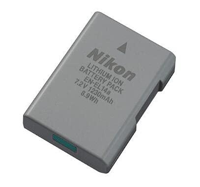 EN-EL14 EN-EL14A Battery for Nikon D5100 D5200 D5300 D5500 D5600 D3100 D3200 D3300 D3400 D3500 DF Coolpix P7000 P7100 P7700 DSLR Camera
