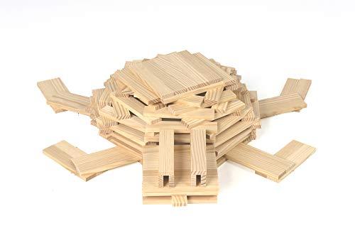 KAPLA-Holzbaukasten 200 Steine - 3
