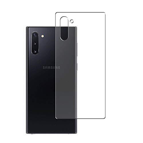 Vaxson 2 Unidades Protector de pantalla Posterior, compatible con Samsung Galaxy Note 10 / Note10 5G SM-N971U N971N N970F [No Vidrio Templado] TPU Película Protectora Espalda Skin Cover