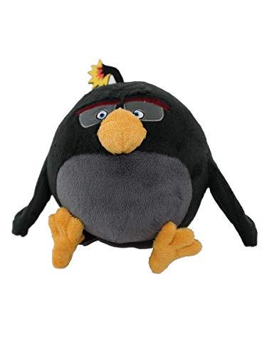 """Angry Birds Movie 7"""" Plush: Bomb"""