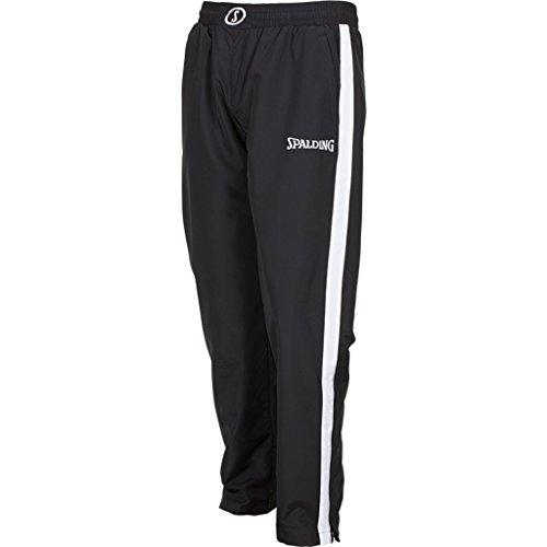 Spalding Evolution II Woven Pants Pantalones De Entrenamiento, Hombre, Negro/Blanco, S
