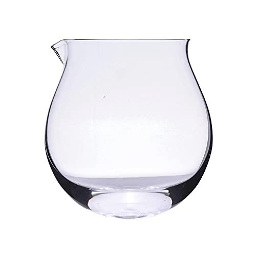 ZNLHJ Taza de cristal creativa moderna con forma de vaso americano, exquisita...