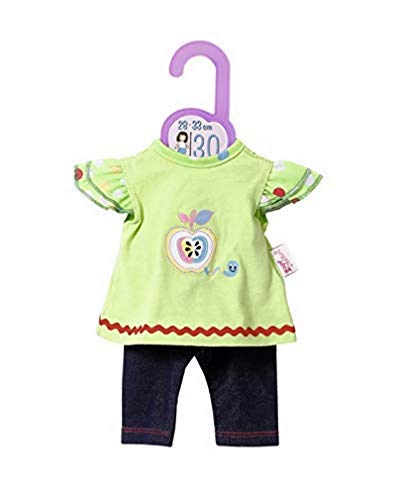 Zapf Creation 870808 Dolly Moda Shirt mit Leggings Puppenkleidung 28-33 cm