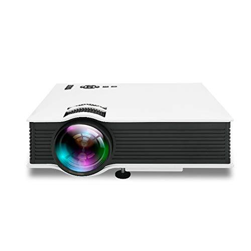 LYXLQ Proyector, Video proyector Full HD WiFi, teléfono LED portátil con Pantalla 1080P HD, se Puede Colocar en el Dormitorio/Sala de Estar/Oficina/Sala de reuniones