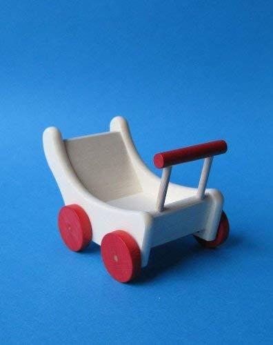 Rülke Holzspielzeug 22012 Puppenhauszubehör, holzfarben, rot