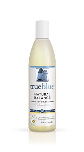 TrueBlue Natural Balance Conditioning Dog Shampoo with Green Tea & Chamomile - Cleansing Wash, Deodorizing, Moisturizing – Toxin Free, Natural Botanical Blend – Tearless Cleaner – 12 Fl. Oz.