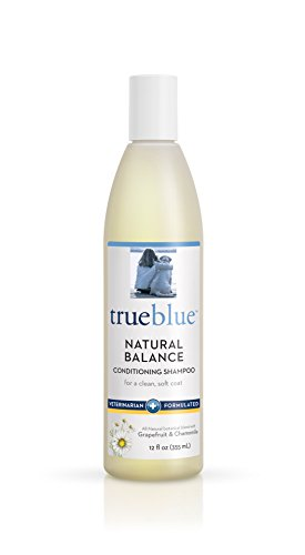 TrueBlue Natural Balance Conditioning Dog Shampoo with Green Tea & Chamomile - Cleansing Wash, Deodorizing, Moisturizing – Toxin Free, Natural Botanical Blend – Tearless Cleaner – 12 Fl. Oz.