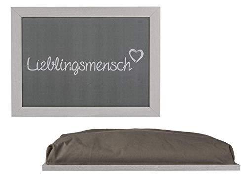 Bavaria Home Style Collection - liefdesmens tablet te gebruiken als knietafel met kussen voor laptop om te eten in bed dienblad kniekussen cadeau-idee Pasen