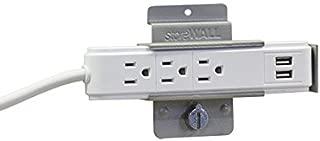 StoreWALL Power Strip Slatwall Bracket Set
