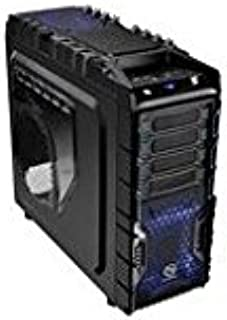 Thermaltake Overseer RX-I Full Tower/Liquid Cooling E-ATX Case for PC - Black