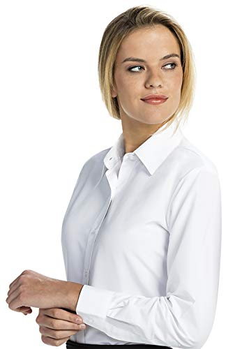 Womens Oxford Shirt With Button Down Collar