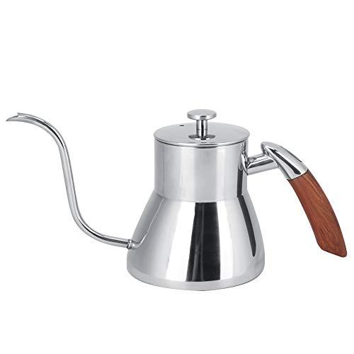 Cafetera, Cafetera De Acero Inoxidable Acero Inoxidable Cómodo De Usar Fácil De Limpiar Para Cafetería Para El Hogar