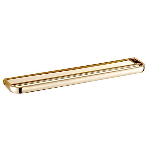 LIYONG Handtuchschienen doppelte Dusche Küche Handtuchhalter Handtuchring Europäischen Wandmontage Metall Anhänger Kupfer Metall (Gold) HLSJ