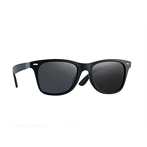 ZEZKT gafas de sol polarizadas para hombres gafas de sol cuadradas clásicas moda casual sunglasses con caja adulto gafas para viajes al aire libre B