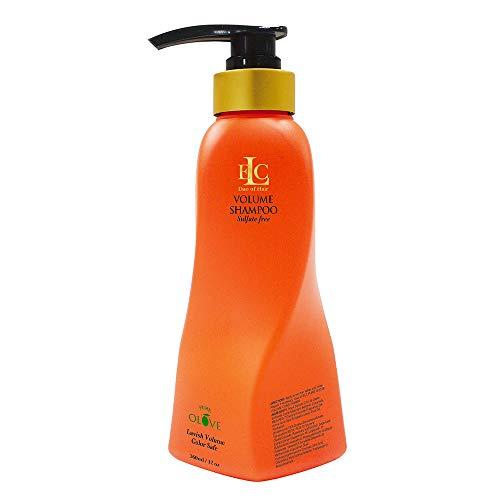 ELC Pure Olove Volume Shampoo (12 oz) - Sulfate Free, Color Safe,...