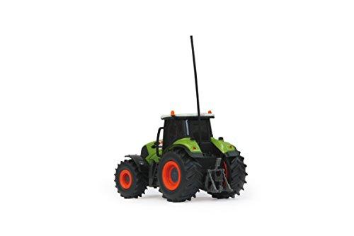 RC Traktor kaufen Traktor Bild 1: Jamara 403702 - RC Claas Axion 850 1:28 mit Holzanhänger inklusive Fernsteuerung*