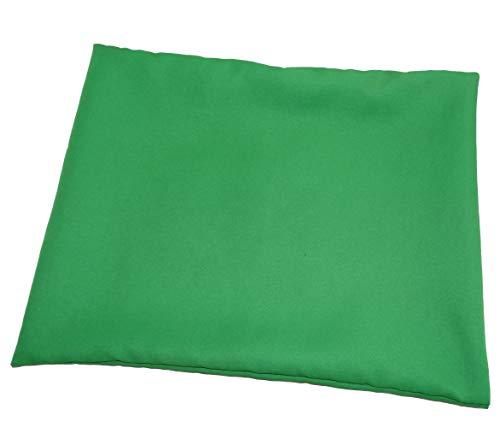 AERZETIX - Funda de Almohada Decorativa o de Cojín para Silla - Verde - Cuadrado 35/35cm - De Tela - C43956