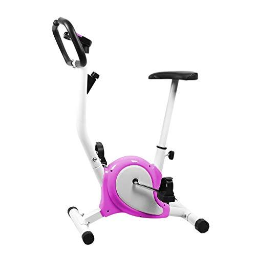 Lsooyys Bicicleta Esttica Plegable Ejercicio Deportivo Ultra Silencioso Ciclismo Indoor...