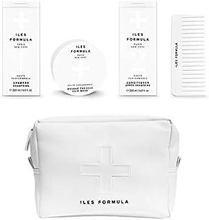 Iles Formula Spa Pack - Shampoo, Conditioner, Mask, Comb Set.