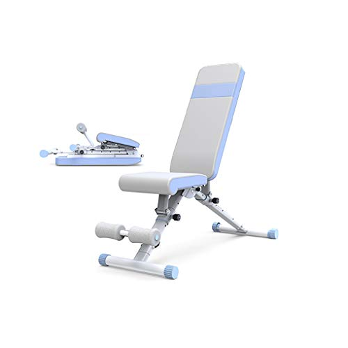 JF - Taburete de mancuerna, silla de Bench Press Bird, enderezamiento sentado, equipo de fitness en el hogar, tabla muscular plegable multifuncional